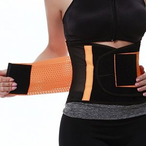 FeelinGirl Women's Adjustable Waist Trimmer Belt Body Shaper Back Brace Review