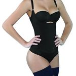 Camellias Women's Seamless Firm Control Shapewear Open Bust Bodysuit Body Shaper Review
