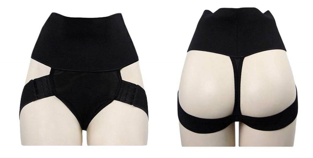 DODOING Womens Butt Lifter Boy Shorts Shapewear Butt Enhancer Control Panties