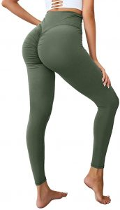 Hioinieiy Scrunch Ruched Butt-Lifting Leggings Review